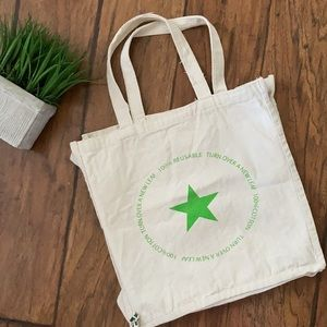 Macy's Cotton Tote Bag reusable grocery